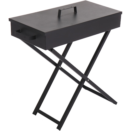 Gratar Kring Grill, pe carbuni, 40x70x72 cm, suprafata gatit 39×69 cm