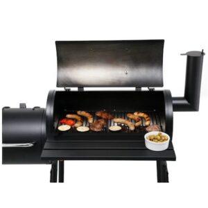 Gratar carbune BBQ smoker 2 in1, Wichita Smoker review