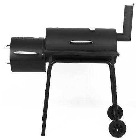 Gratar pe carbuni cu afumatoare Kring Smoker, 93x30x102, suprafata gatit 61×30 / 29×30 cm : Review si Pareri pertinente